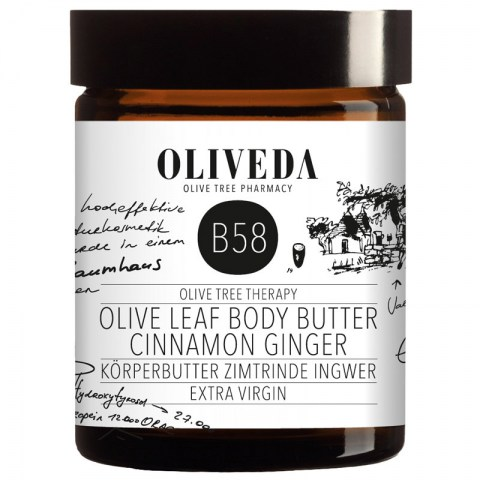B58 Olive Leaf Body Butter Cinnamon Ginger