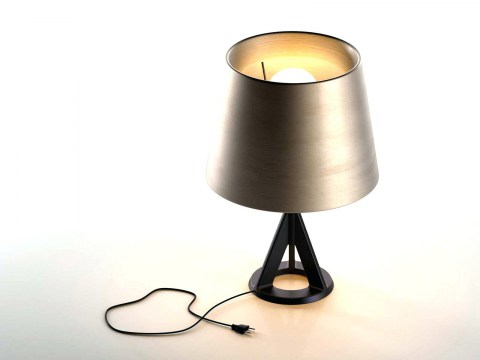 Base Brass Table Lamp Single