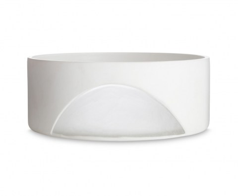 Carved Bowl White