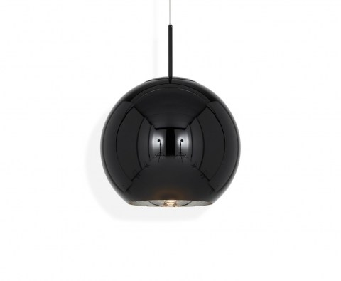 Copper Round Black