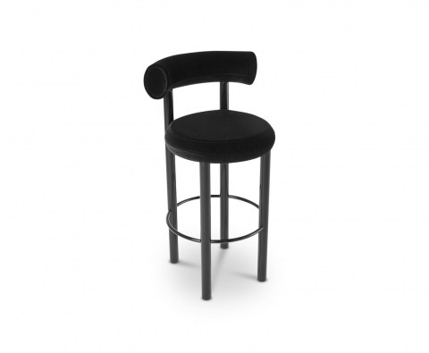 Fat Stool Black