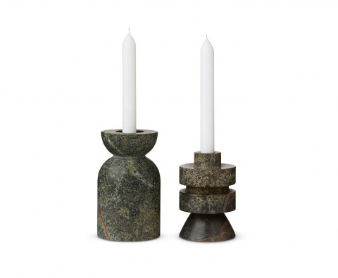 Rock Candle Holder Medium