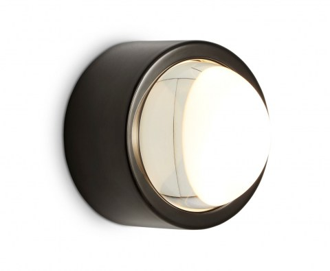 Spot Surface Light Round Black
