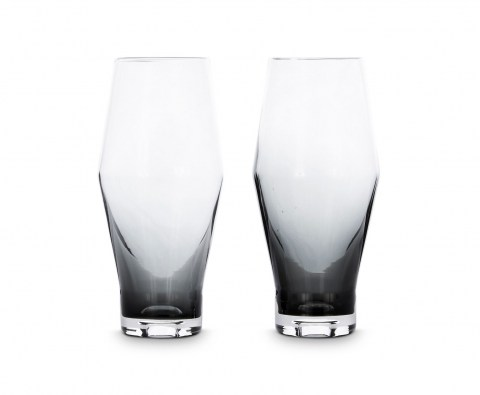 Tank Beer Glasses Black