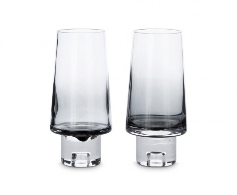 Tank High Ball Glasses Black