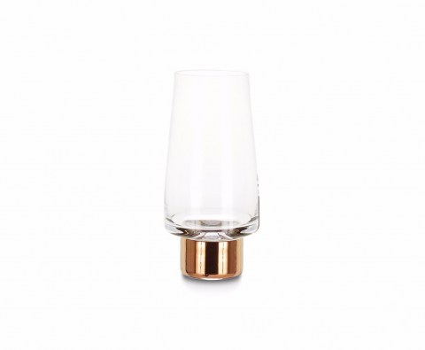 Tank High Ball Glasses Copper