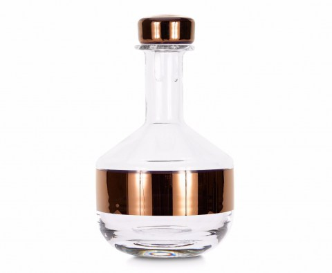 Tank Whiskey Decanter Copper