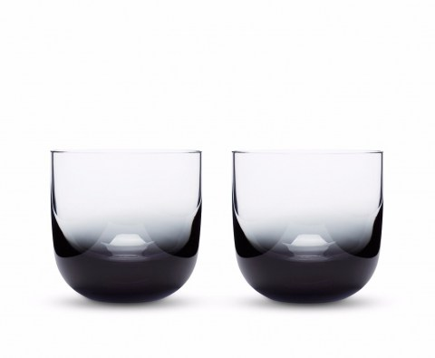 Tank Whiskey Glasses Black