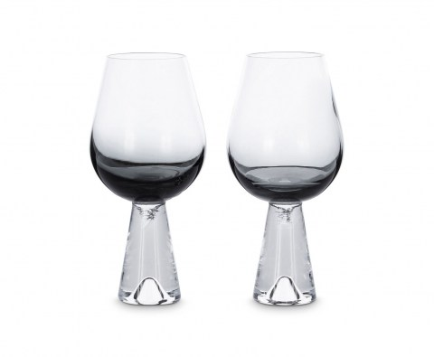 Tank Wine Glasses Black