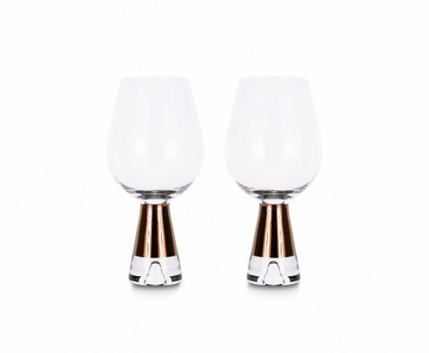 Tank Wine Glasses Copper